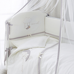 Постельное белье PERINA Комплект в кроватку Bonne Nuit из сатина (6 предметов)