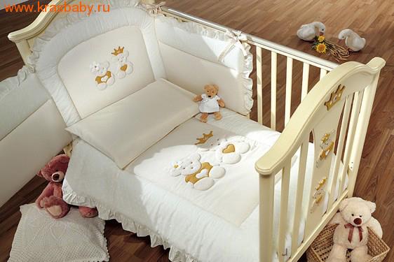 Комплект постельного белья в кроватку своими руками
