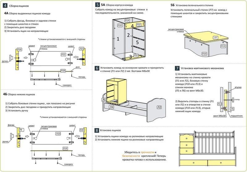 Инструкция По Сборке Кроватей