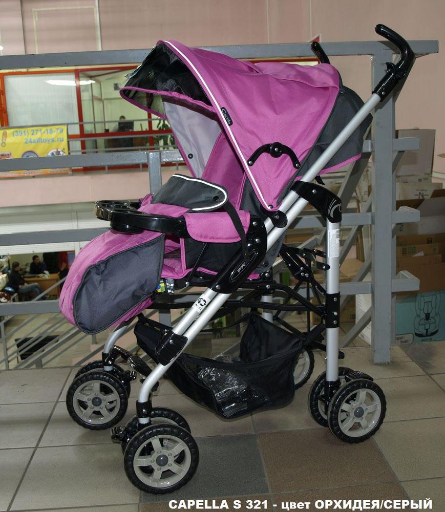 Отзывы о Детская коляска Capella S-321 - otzovik com