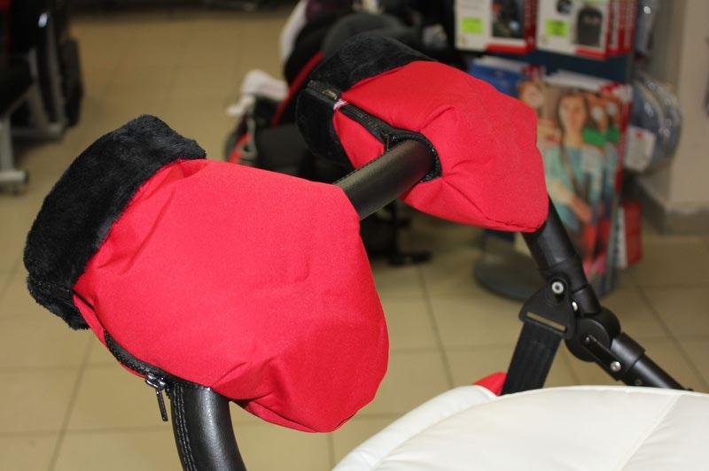 Как сшить муфту варежки для рук на коляску своими руками