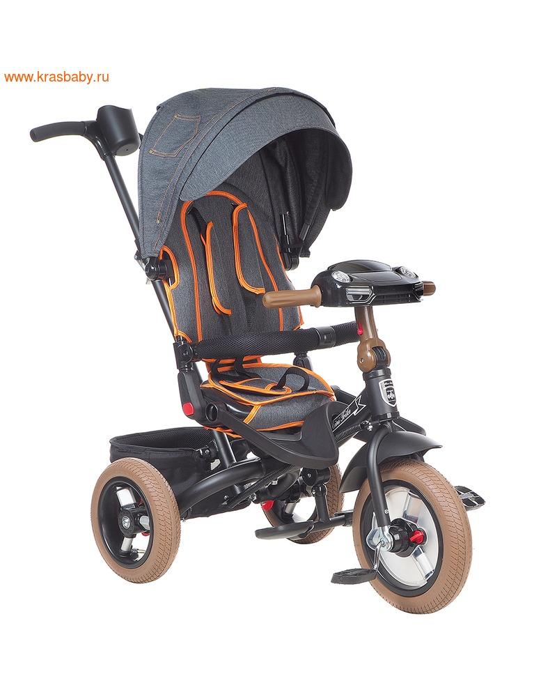 MARS Велосипед трехколесный MINI TRIKE T-400 JEANS