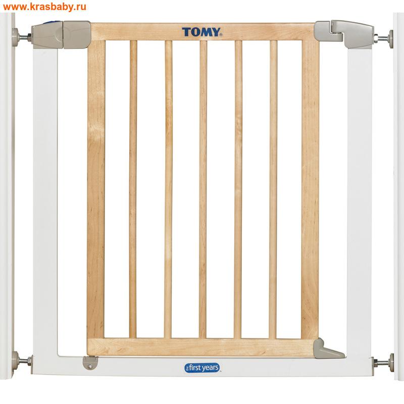 TOMY Ворота безопасности из натурального дерева и металла арт.2091