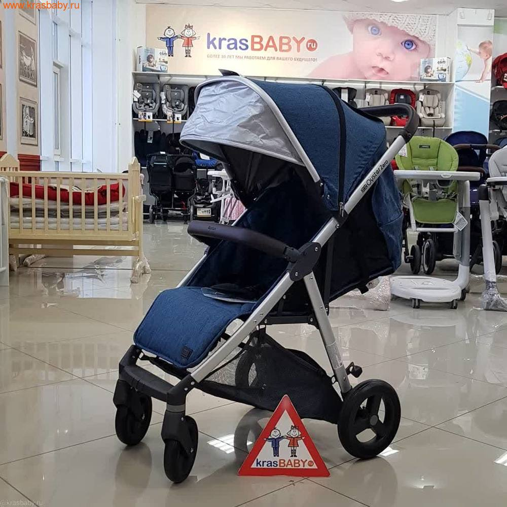 Baby Style Коляска прогулочная Oyster Zero 2019 (7,9кг)
