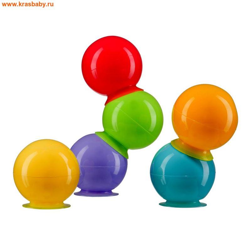 HAPPY BABY Набор игрушек для ванной IQBUBBLES