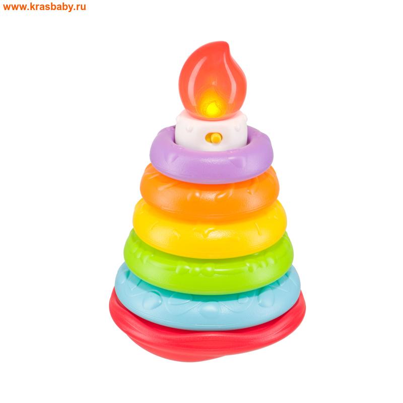 HAPPY BABY Музыкальная пирамидка HAPPY CAKE