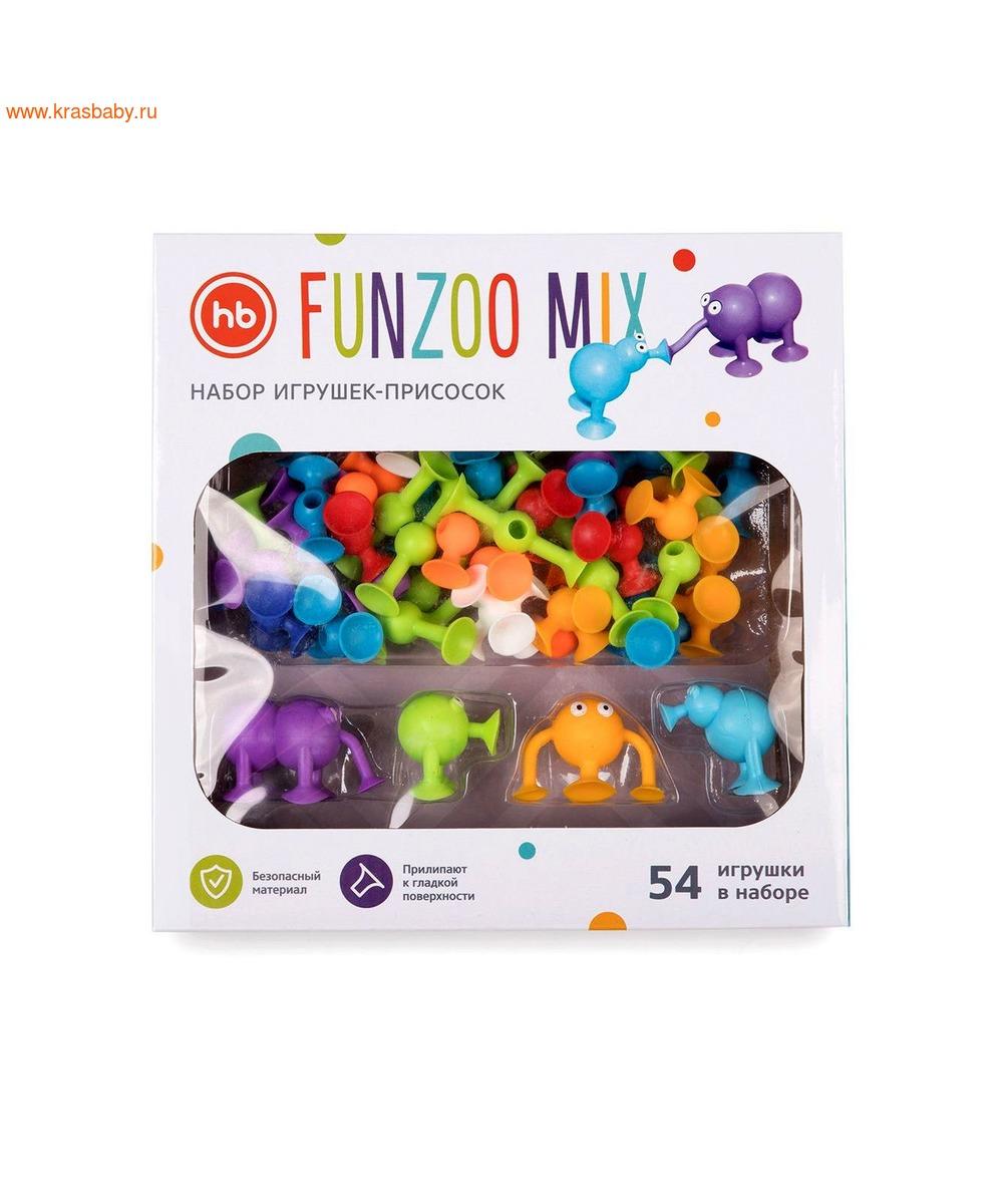 HAPPY BABY Игровой набор FUNZOO MIX