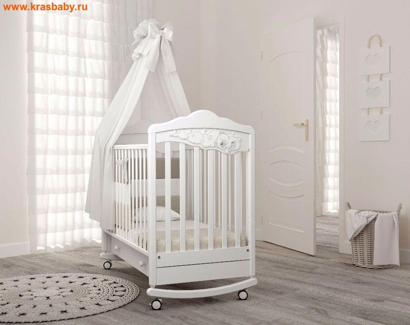 GANDYLYAN Детская кроватка Angela Bella Изабель