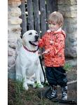 REIKE Комплект для мальчика (куртка+полукомбинезон) safari orange