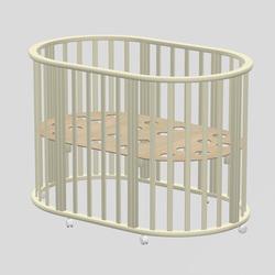 ВЕДРУСС Круглая кроватка Оливия