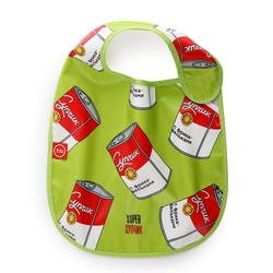HAPPY BABY Нагрудник на липучке WATERPROOF BABY BIB