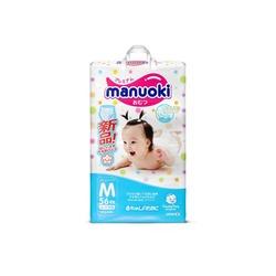 Manuoki Подгузники-трусики размер M 6-11кг, 56 шт