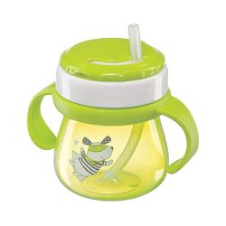 HAPPY BABY Поильник с трубочкой и ручками STRAW FEEDING CUP